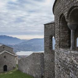 L'eremo di San Pietro al Monte a Civate (Brianza)
