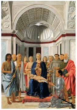 La Pala Montefeltro di Piero della Francesca a Brera