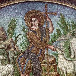 Il mosaico del Buon Pastore nel Mausoleo di Galla Placidia a Ravenna