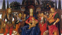 La Pala di San Giusto del Ghirlandaio agli Uffizi