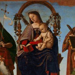 La Pala di Sant'Onofrio di Luca Signorelli nel Museo del Duomo di Perugia
