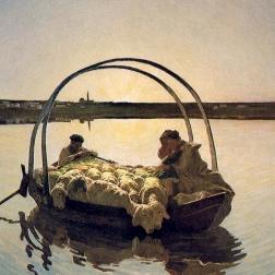 Ave Maria a trasbordo di Giovanni Segantini