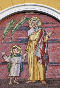 I santi Quirico e Giulitta di Luigi Filocamo a Robbiano