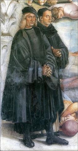 L'autoritratto di Signorelli nella cappella di San Brizio a Orvieto