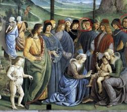 Il viaggio di Mosè in Egitto di Perugino nella cappella Sistina